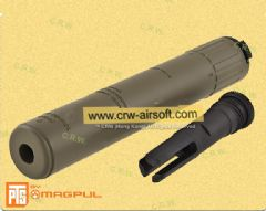 MAGPUL PTS AAC SPR / M4 Silencer Deluxe Version (14mm CW, Dark Earth)